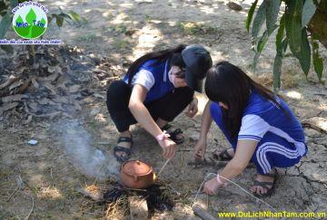 Tour chuyên đề dành cho học sinh cấp 2,3 tại KDL Sinh Thái Nhân Tâm do Nha Trang Trẻ Travel tổ chức