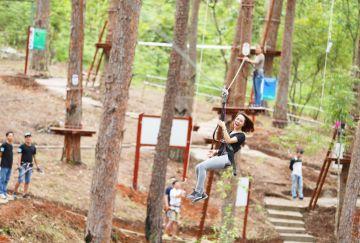 Những trò chơi cảm giác mạnh nên thử khi đến Lâm Đồng.